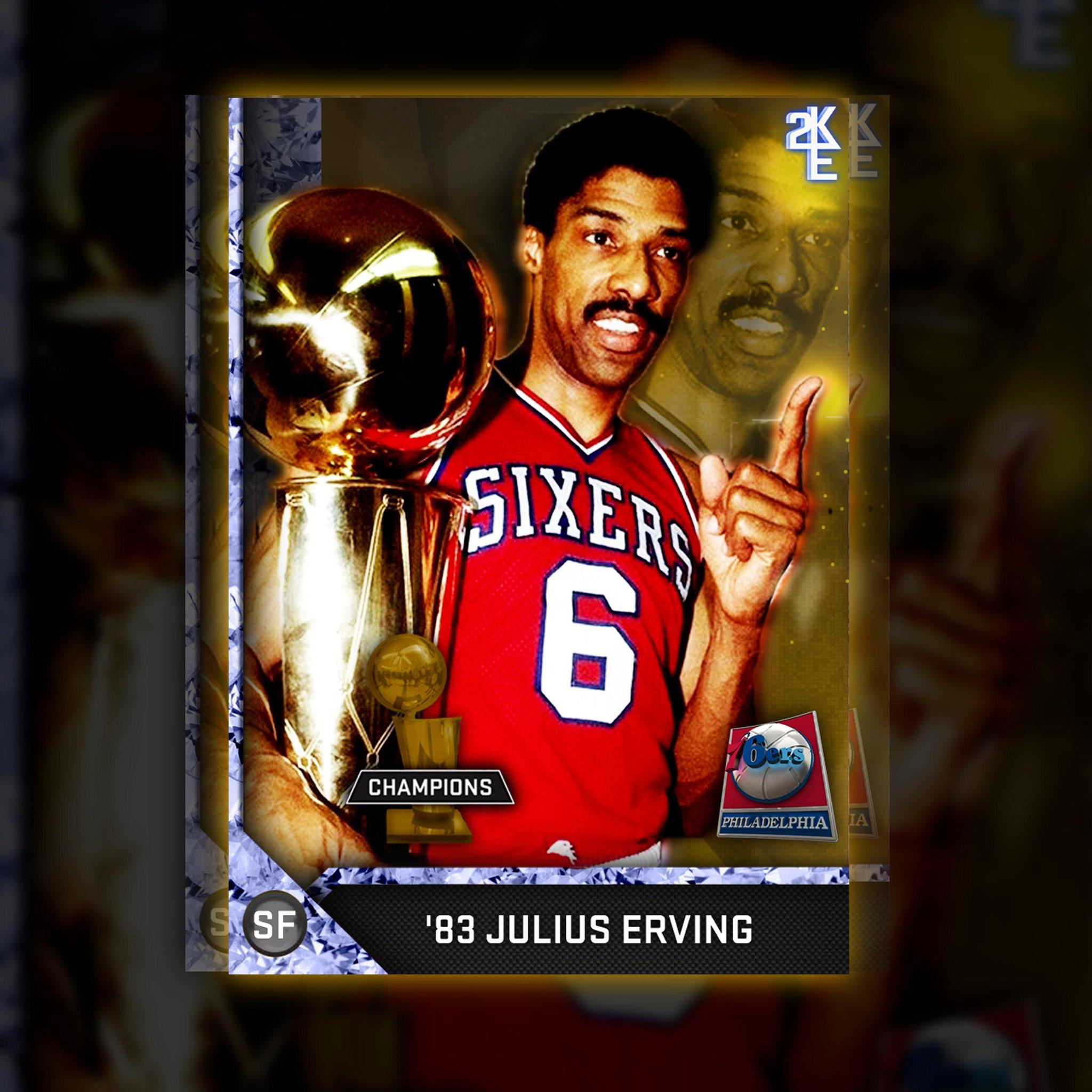 "Devin Kurant on Twitter ""Diamond Champions Julius Erving NBA2K16"