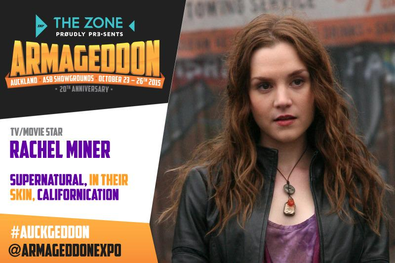 SPN demon Meg Masters 2.0 @RachelMiner1 is coming to #Auckgeddon #Awesomenessness http://t.co/bQw3L2fJXD http://t.co/LQEFJaxePA