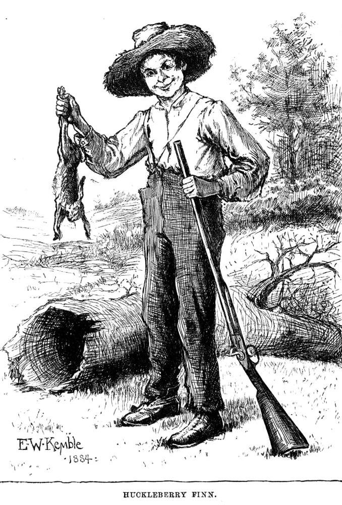 huck finn annotations A sumptuous annotated edition of the great american novel all modern american literature comes from one book by mark twain called huckleberry finn, ernest hemingway once declared.