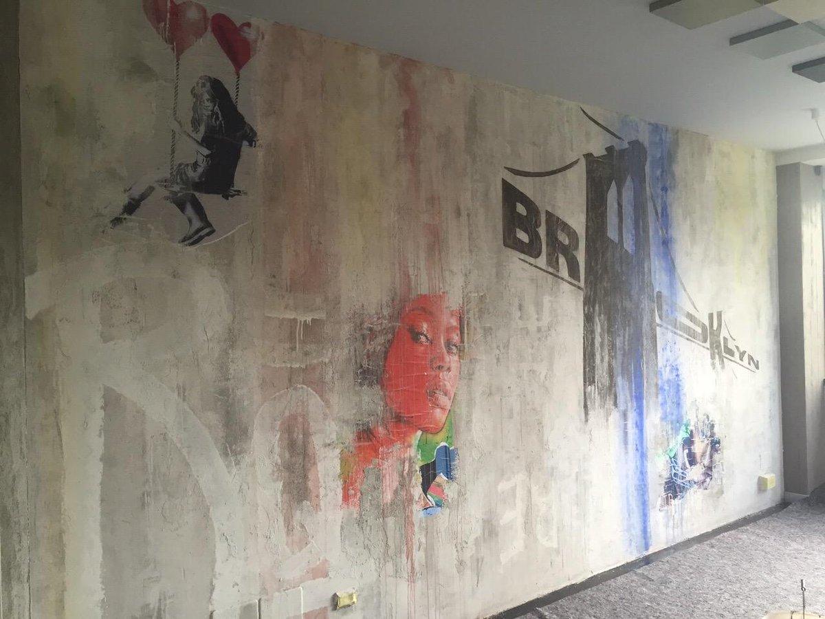 Elekta resine on twitter parete stile streetart for Resina elekta