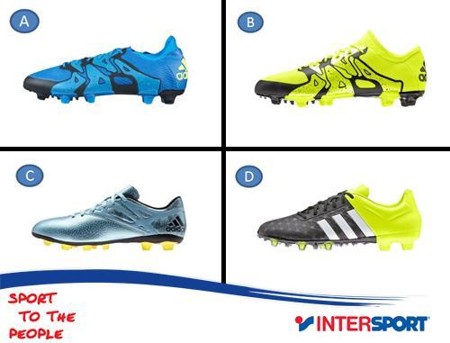 voetbalschoenen adidas intersport