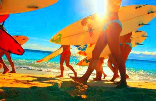 サーフィンと海