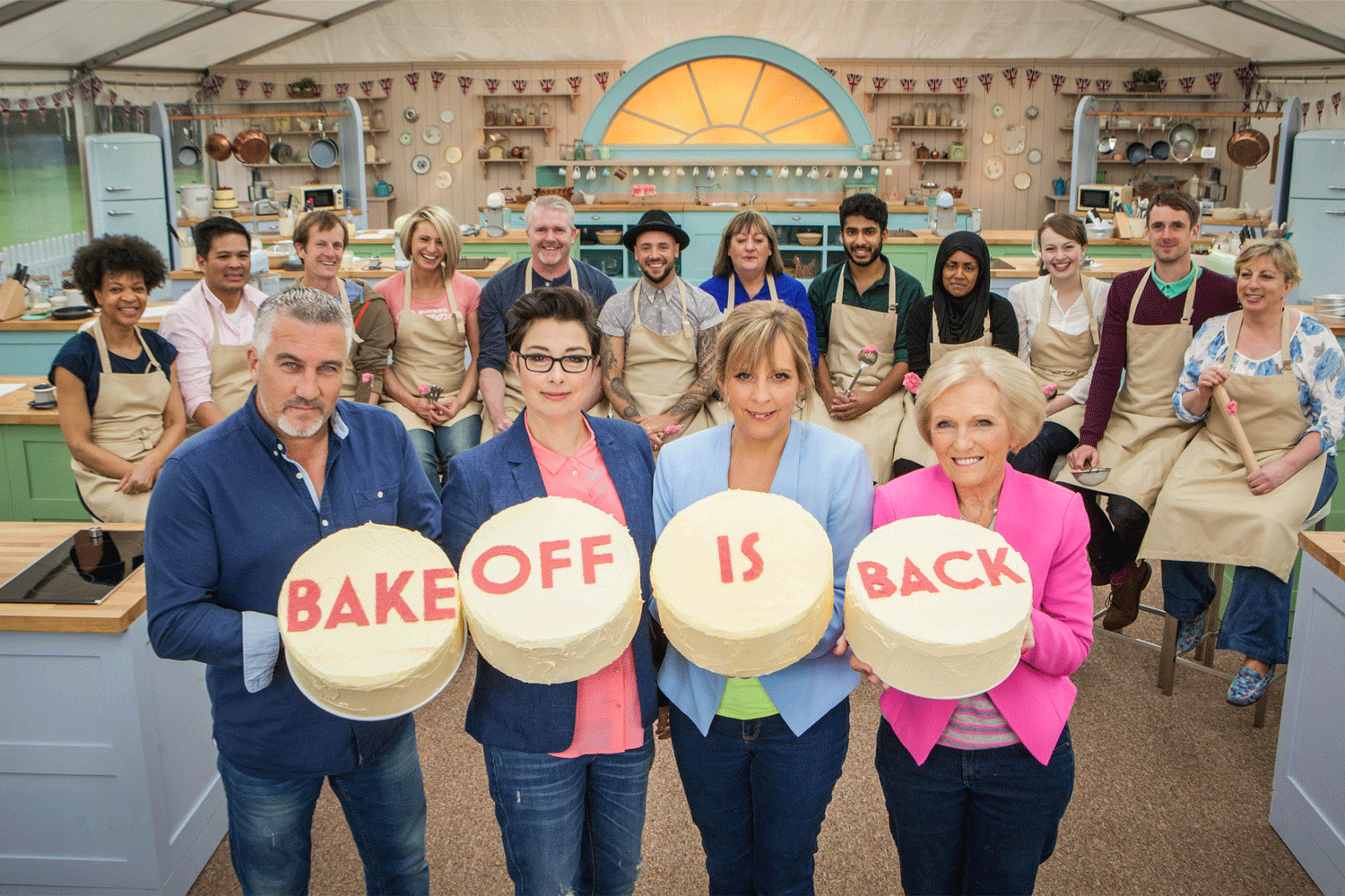 GREAT BRITISH BAKE OFF KLAXON! (well, one week to go) Read about the new series here http://t.co/XT6OC0WZIh #GBBO http://t.co/A0XUWOlDk5