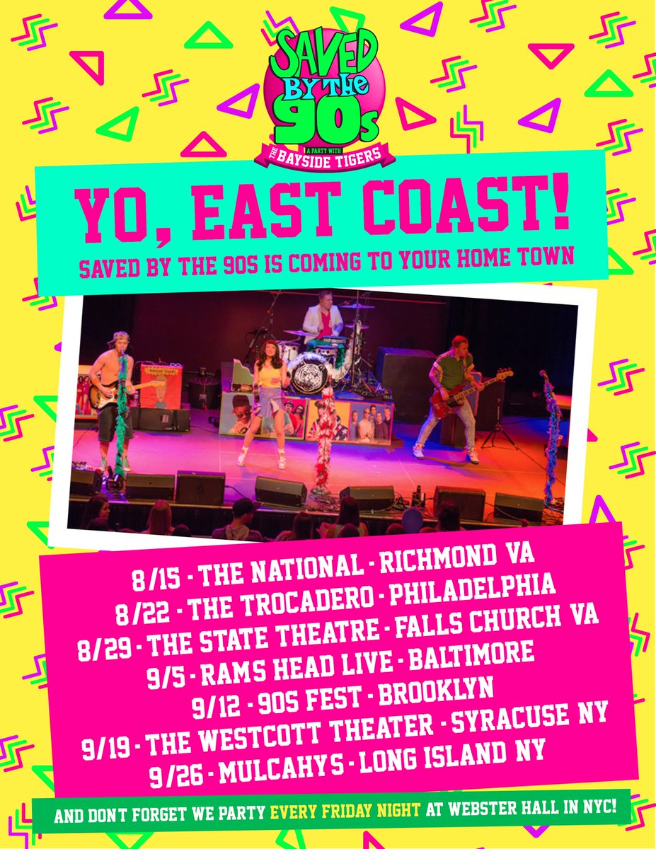 East Coast Tour! See you soon! http://t.co/OzbtGjeN3r