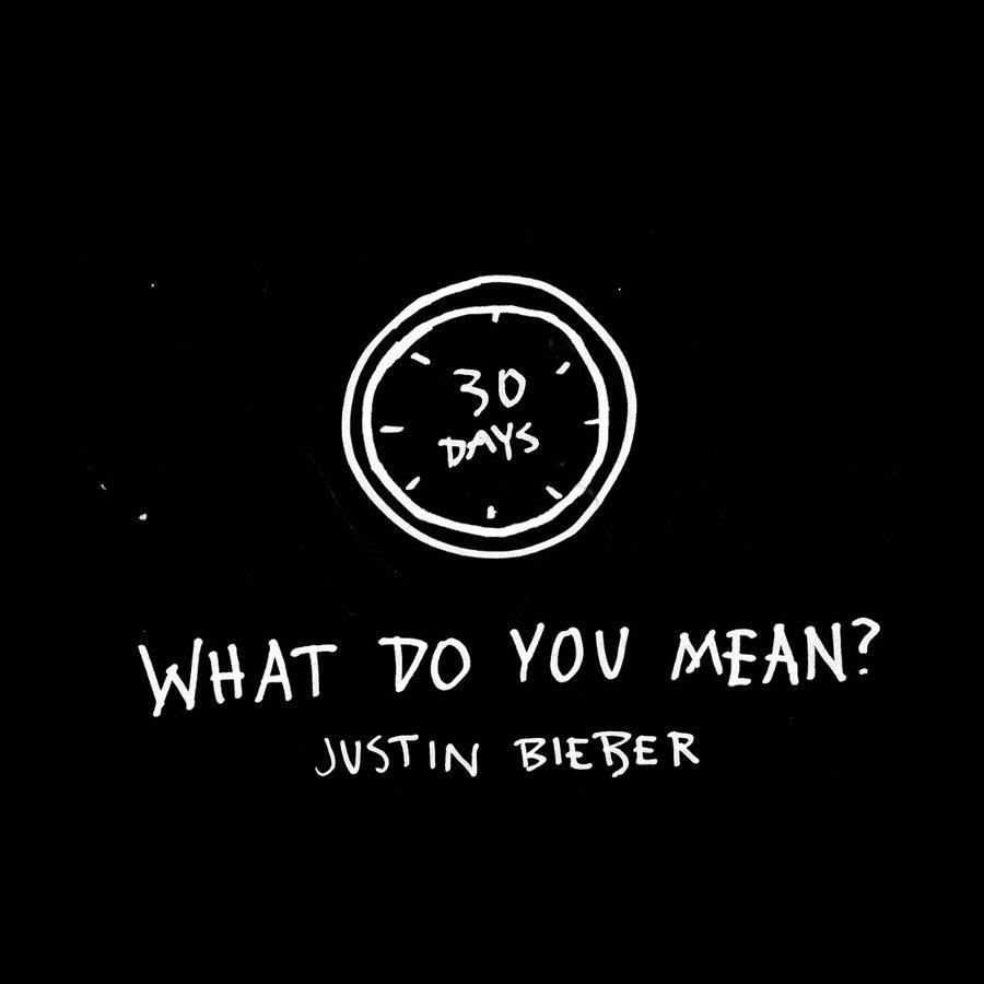 The countdown has begun... #WhatDoYouMean #30DAYS I'm back :)
