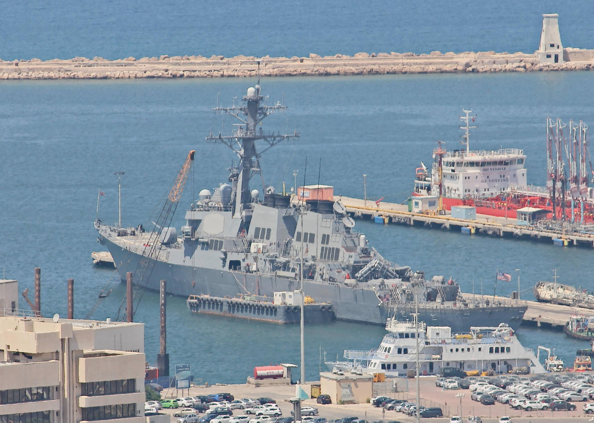 Arleigh Burke-class guided missile destroyer USS Porter (DDG-78)