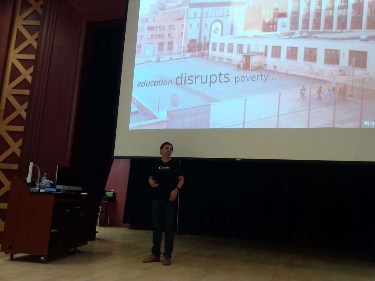 Jaime Casap, Chief Educational Evangelist at Google, opens EECD IT Summer Camp for 150 NS teachers in Antigonish. http://t.co/gZdJ1m8FxR