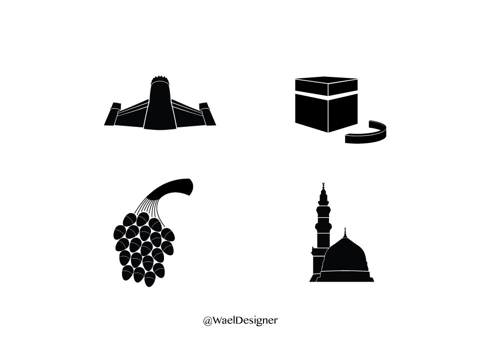 Wael Designer V Twitter بعض معالم المملكة قمت برسمها قديما مفيدة في تصميم فلاتر السناب تحميل Pdf Png Http T Co Oxg0xskp5k تصميم Http T Co Ucq8zym7c3