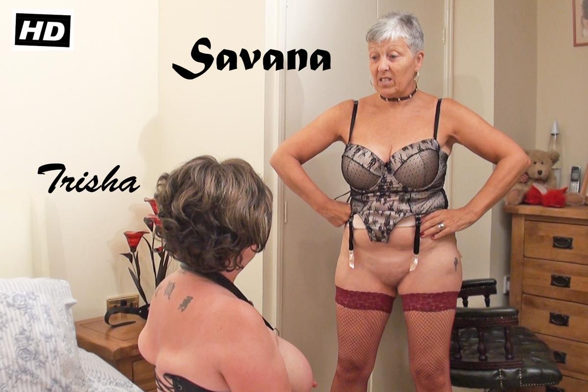 Horny lesbian grandmas