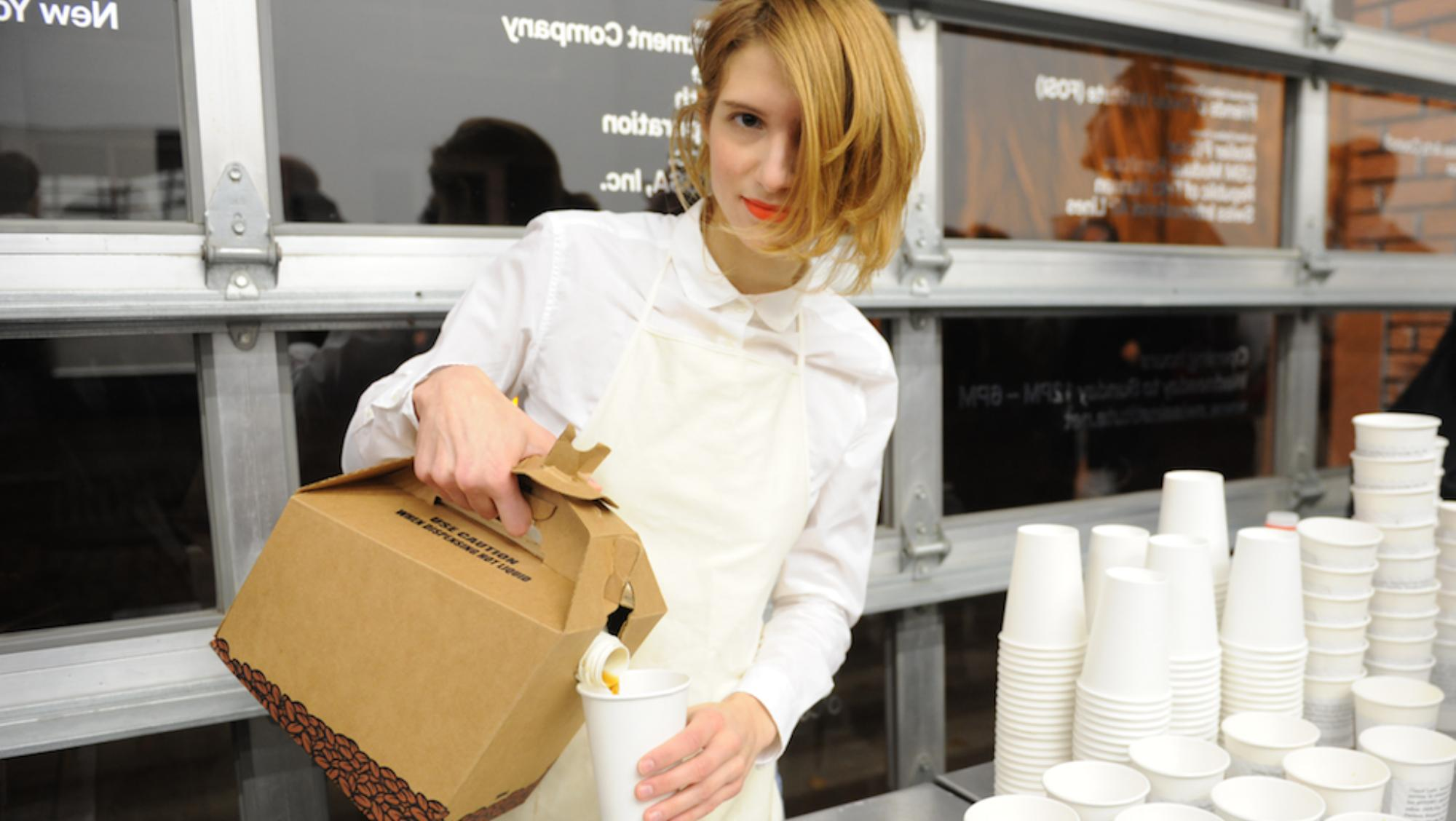 Artist @deanna_havas is leaving New York to brew cosmic lattes in Switzerland: http://t.co/xKm6fJjajA http://t.co/g1hD476EgQ