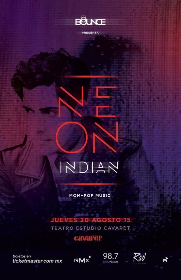Neon Indian se presentará en Guadalajara el 20 de agosto @tecavaret  #ADNRMX http://t.co/4Cte85n2My