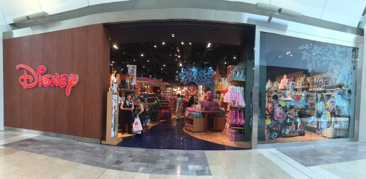 Garden state plaza on twitter the disney store is now open check out this beautiful new ip for Is garden state plaza open today