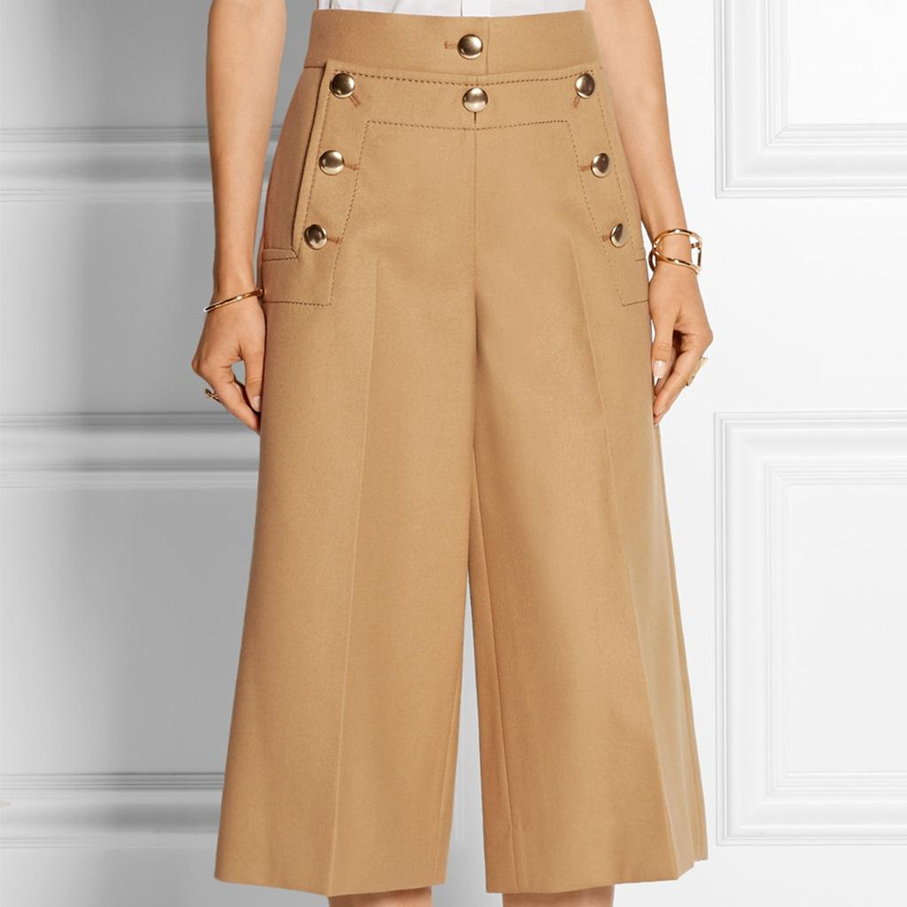 Culottes are summer's hit silhouette. Look to denim to take the look through to fall. http://t.co/2yfoC0sL1c http://t.co/Ltunu0JKM9