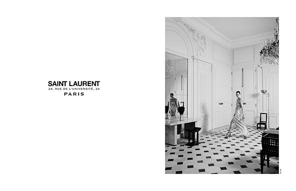 Have you seen the new Saint Laurent Couture by Hedi Slimane? http://t.co/nV5LxO78GE http://t.co/EGnVfGkZPZ