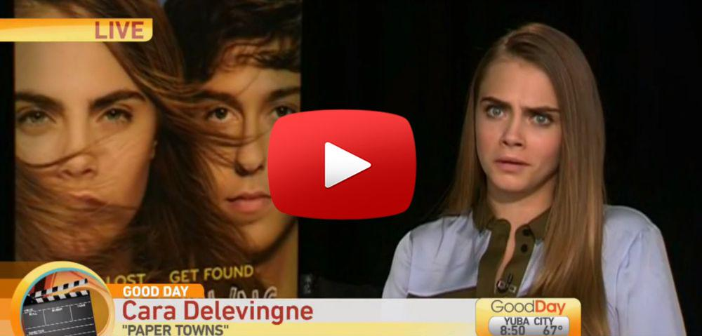 Cara Delevingne tweeted the PERFECT response to that painfully awkward interview. http://t.co/572tayv0sz http://t.co/CYxHJKuDr4