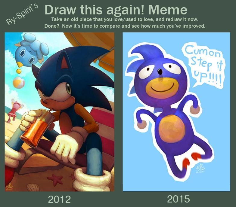 Ry Spirit On Twitter Decided To Do One Of Those Draw This Again