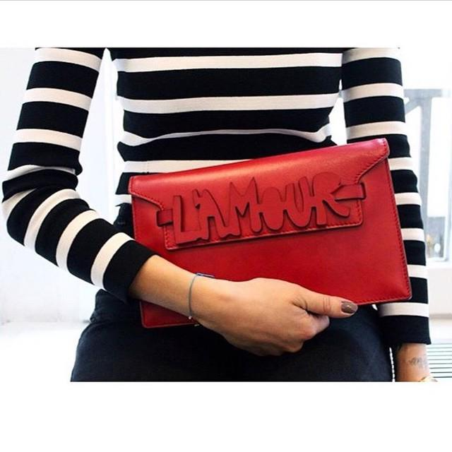 Feel the love. L'Amour clutch image by @revistamade #love http://t.co/MGAOGeVkYs http://t.co/T23LCR7NjP