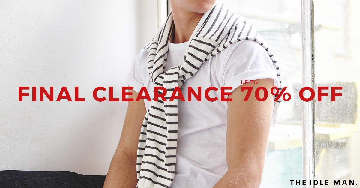 FINAL CLEARANCE! Shop big brands for up to 70% off while stocks last! Check out the sale here: http://t.co/DM7AzS6vCH http://t.co/r9KQcZfmG1