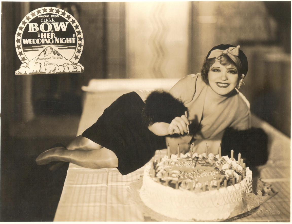 I must wish a happy birthday to Clara Bow, the Queen of Screen Goddesses and the love of my life. http://t.co/t0C6eZPZQe