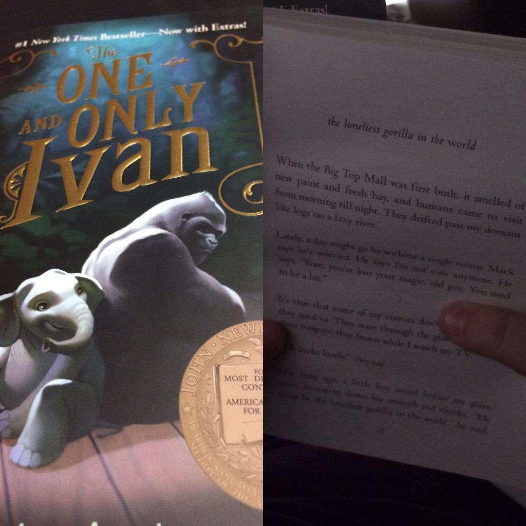 We couldn't wait. That's what #ReadingSummit and @MrSchuReads will do to you. #readtogether #ivan http://t.co/fMn9l5Kvj9