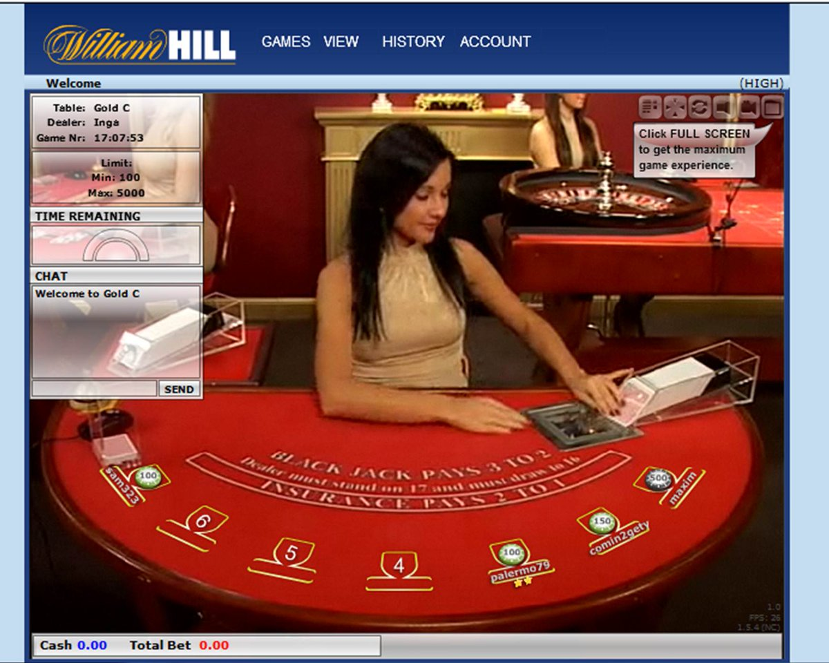 william hill casino club review