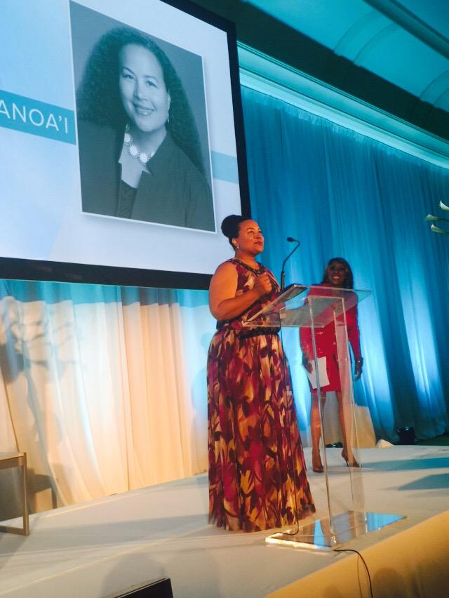 @TSmithAnoai accepting her award at #C2Miami. We are so proud of our leader!! She's #relentless in her pursuit. http://t.co/P5zz0nQ4vA