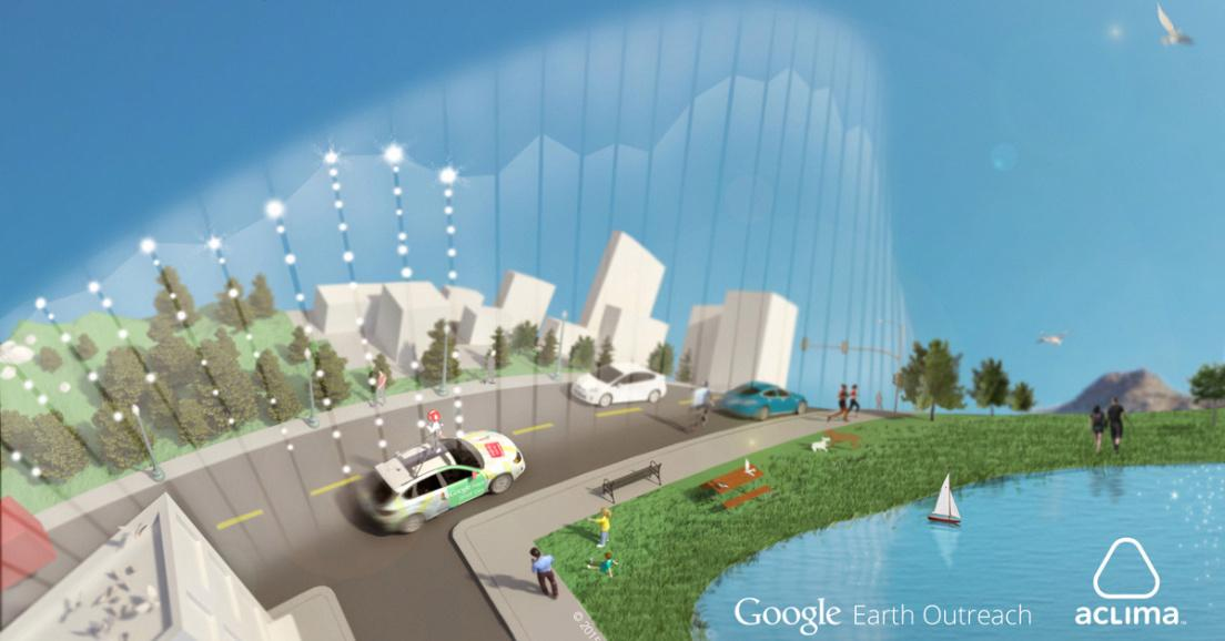 Google partners with startup Aclima to attach air quality sensors to Street View cars http://t.co/gNTEdLStq2 http://t.co/mWKYPwbaJI