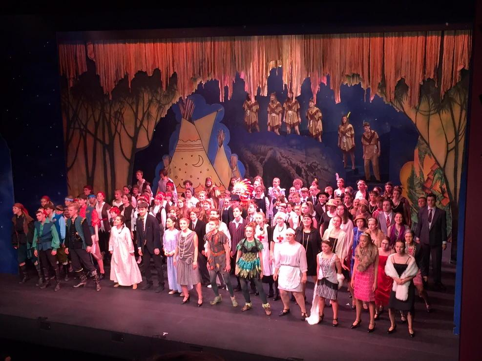 Bravo to the young cast of #PeterPanReturntoNeverland @TheatreRNorwich - great show tonight! http://t.co/Xf8nu36aoR