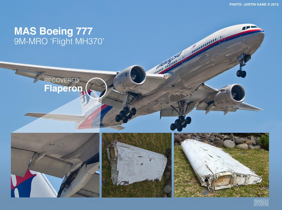 MH370 flaperon debris found on Reunion Island