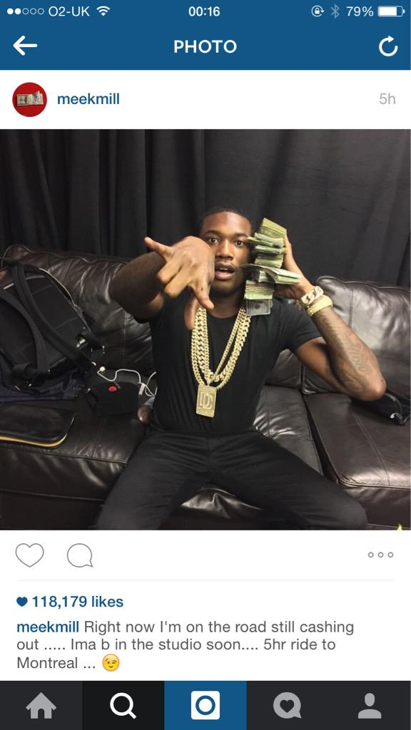 The comments on @MeekMill's Instagram are jokes!!