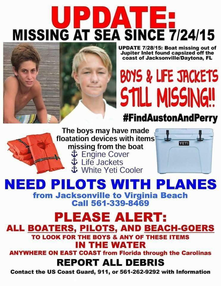 They could still be alive... Crazy to think but they could be off the Carolina coast.. Keep your eyes open!  http://t.co/qo7O511Z1w