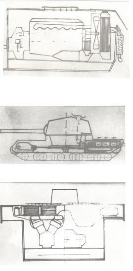 2604式戦車(日本) マウスやオイ車より大きい超重戦車。記録が殆ど残ってないからよくわかんないんだけどね。 満州で撮影された砲塔の写真がこいつのものって噂があったりする。あくまで噂。  ちなみにWoTの4式重戦車はコレ。