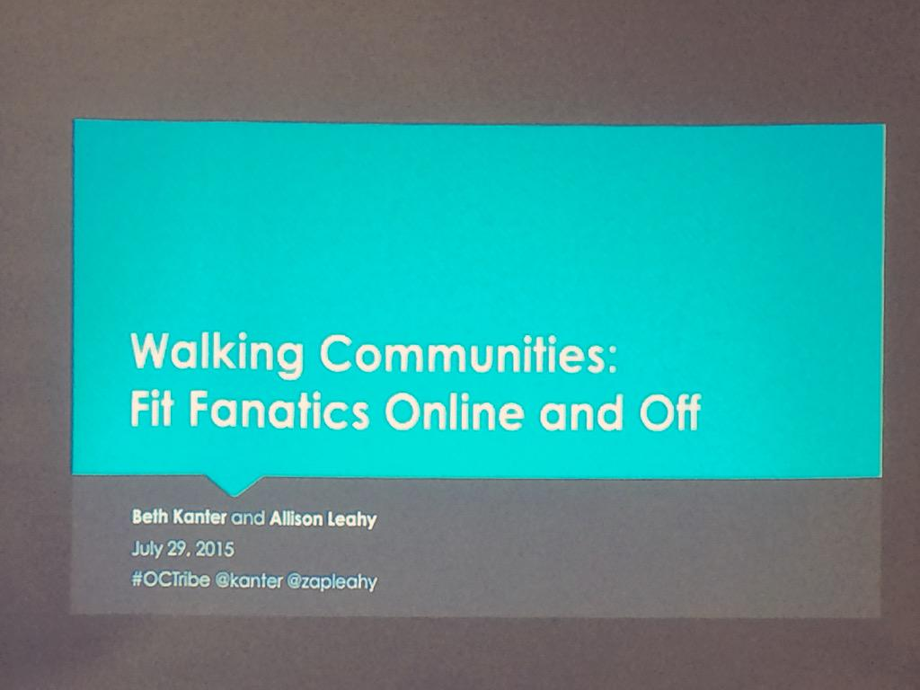 Thumbnail for #octribe Meet Up:  Walking Communities Online and Offline