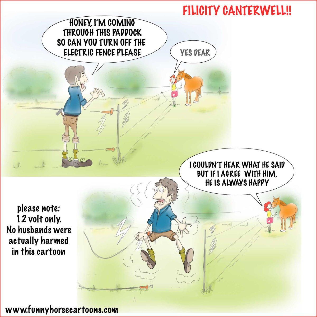 Funny Horse Cartoons Kaythornton10 Twitter