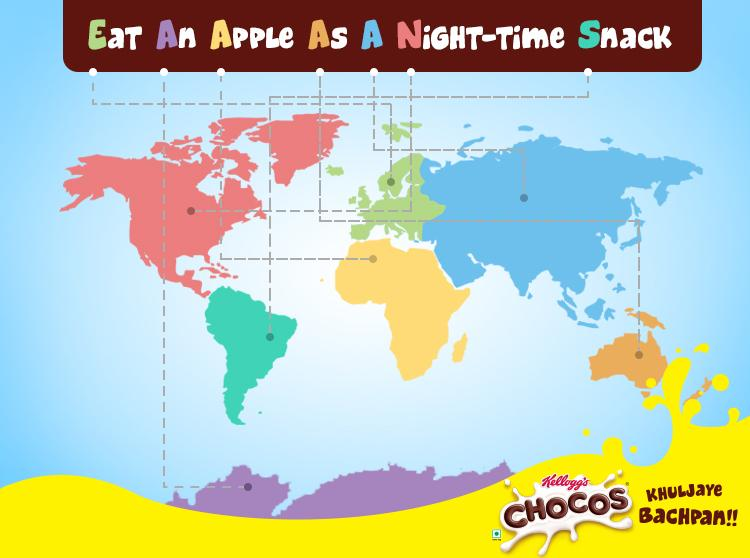 Kelloggs chocos on twitter want to make geography fun and easy kelloggs chocos on twitter want to make geography fun and easy for your child heres an exciting way to remember the names of the 7 continents gumiabroncs Gallery