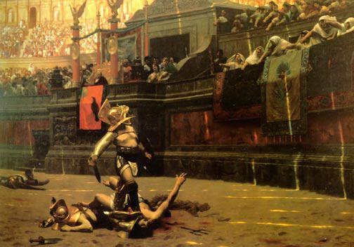 Gladiator private Rita Faltoyano