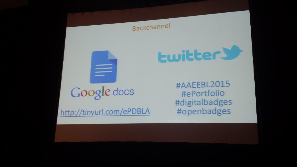 Planned backchannel to engage with our closing keynote during & beyond: http://t.co/TrTt9H9fiP - Awesome! #AAEEBL2015 http://t.co/Rz3VfOveSD