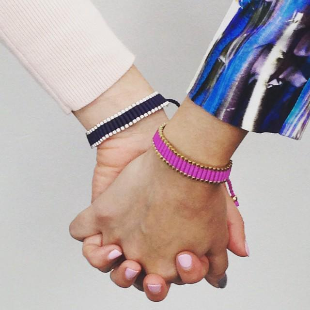 #FriendshipDay! RT & comment with a friend's name for the chance to each win a Links of London Friendship bracelet! http://t.co/SmgbjdmtQ7