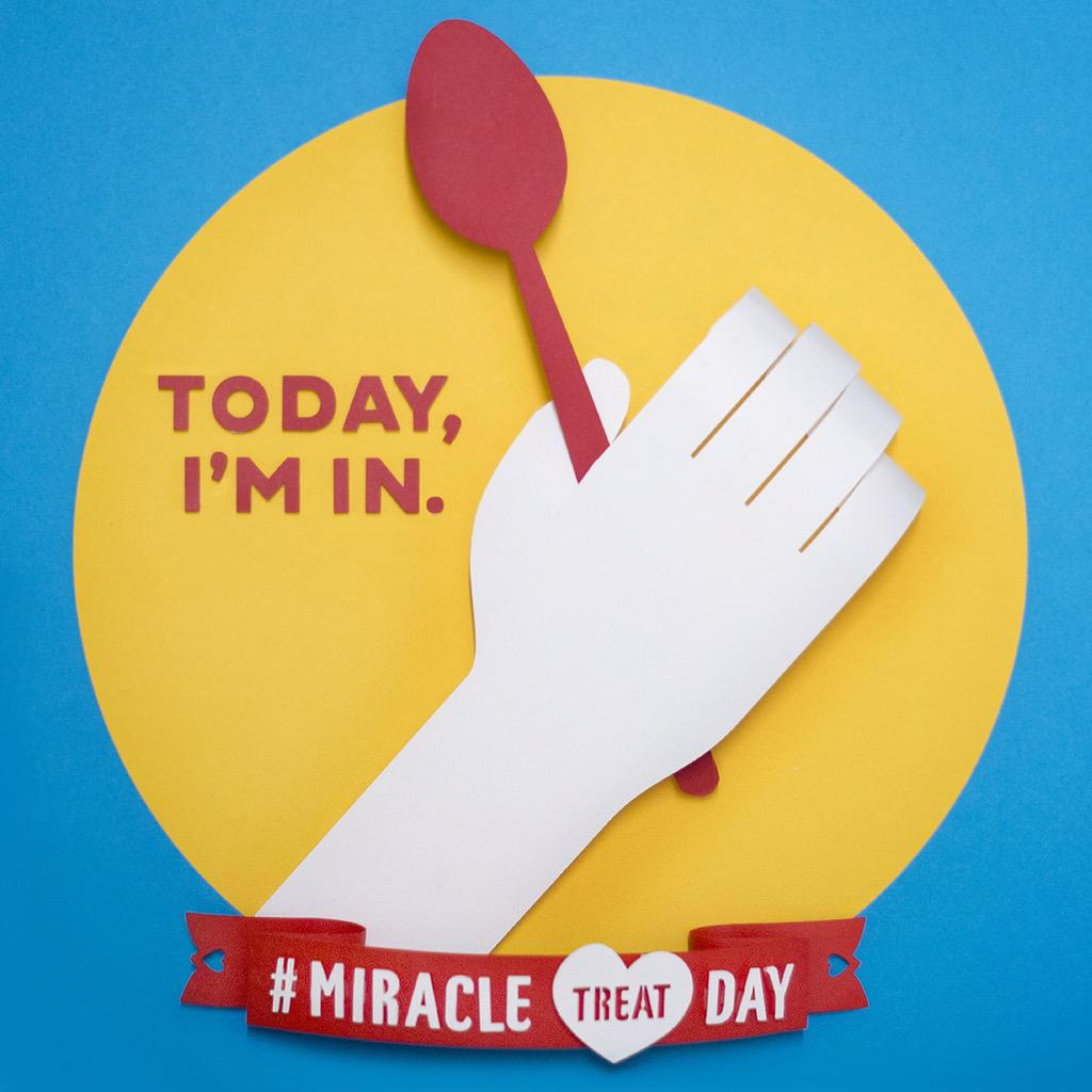 I'll buy a BLIZZARD & help kids at @CMNHospitals. Share this & join me at a participating DQ today! #MiracleTreatDay http://t.co/5czCdTzajf