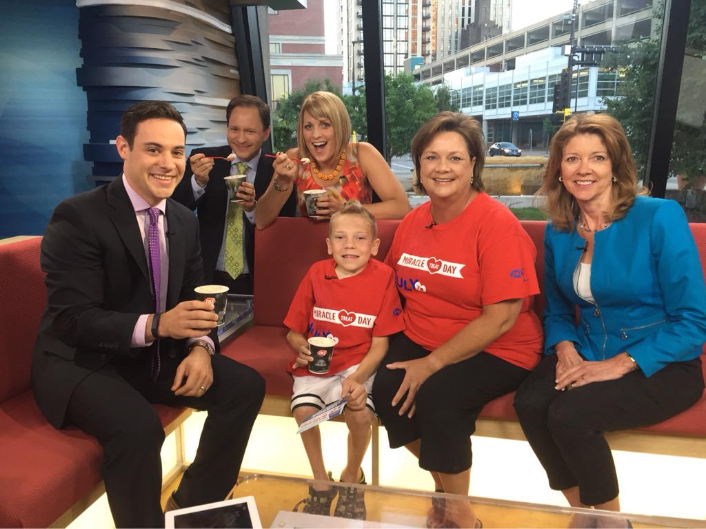 It's @DairyQueen #MiracleTreatDay! Buy a blizzard and support Children's Hospitals and kids like Logan! http://t.co/8U4CEdxP1J