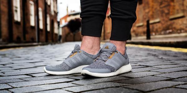 adidas pure boost feet
