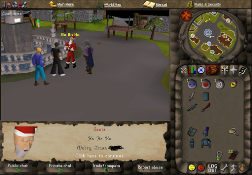 Runescape 2021 Christmas Event Runescape On Twitter Happy Throwbackthursday Everyone Who Can Guess Which Year This Christmas Event Is From Tbt Http T Co Ymgand5tyz