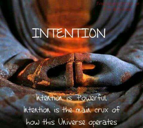 #Intention is powerful... #JoYTrain #SuccessTRAIN #Motivation <br>http://pic.twitter.com/FpnYoHXbJe RT @CorOfTheSUN @themoodcards