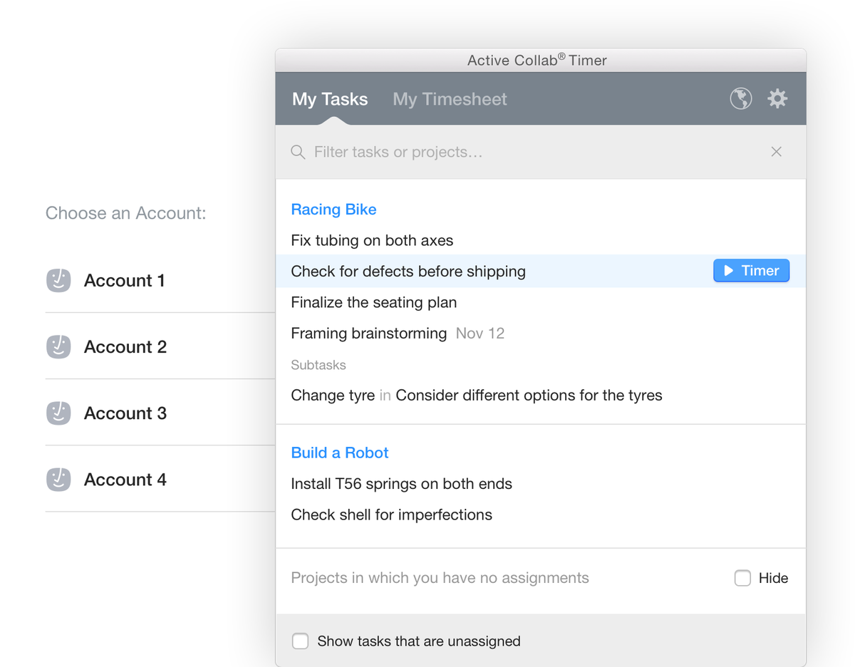 """Activecollab activecollab on twitter: """"active collab timer for both mac"""