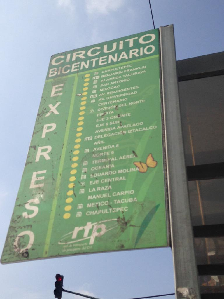 Circuito Bicentenario : Brenda villegas on twitter quot ruta de camiones expreso