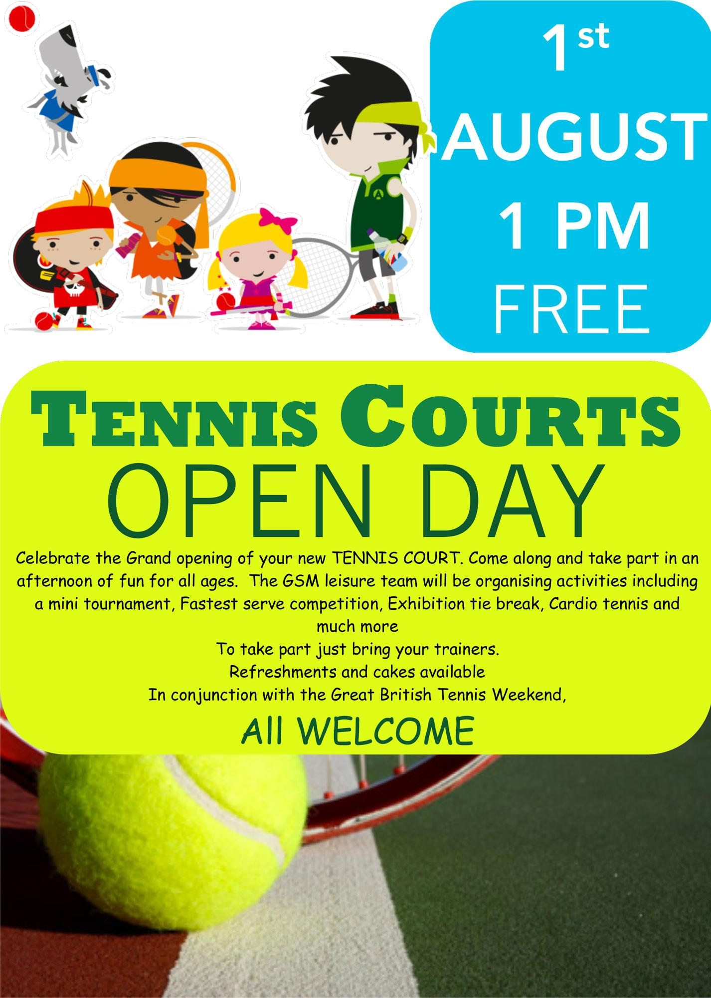 RT @BlabyDC: Kirby Muxloe's resurfaced tennis courts will be opened by @BritishTennis today, 1-4pm Court Close, LE9 2DD #tennis http://t.co…