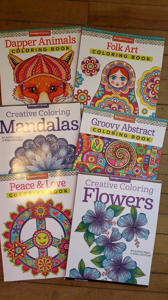 New Colouring Books Just In 10 3 Of