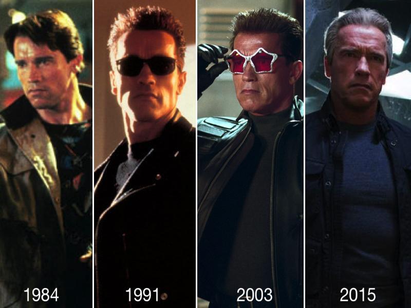 ¡Feliz cumpleaños, Arnold Schwarzenegger! Hoy cumple 68 años y hace 31 lo vimos por 1ª vez como #Terminator #TBT. http://t.co/OK0yOvlInh