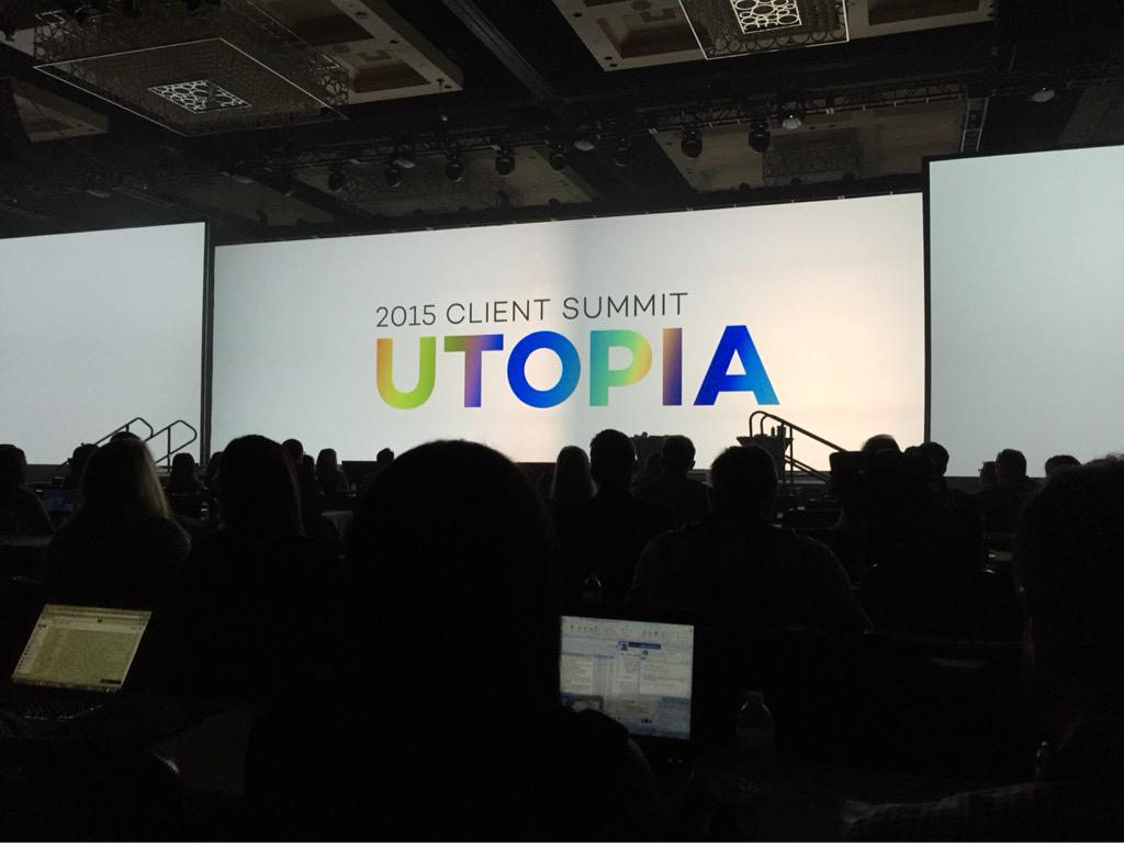 Kicking off @ExperianMktg #EMSSUMMIT with @mseeley6 and @ashleydaly #utopia #SuiteLife http://t.co/729nukknzm