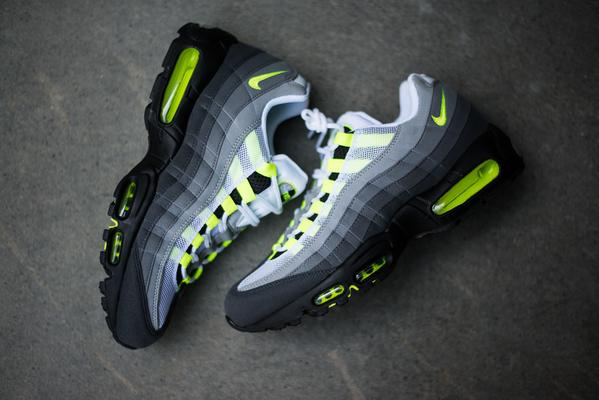 size 40 f37c7 9b149 the nike air max 95 og neon restocked on finishline here adding straight to cart  go